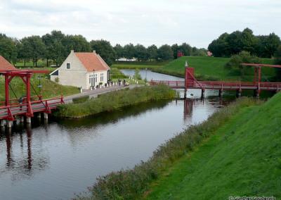 Festung Bourtange in den Niederlanden