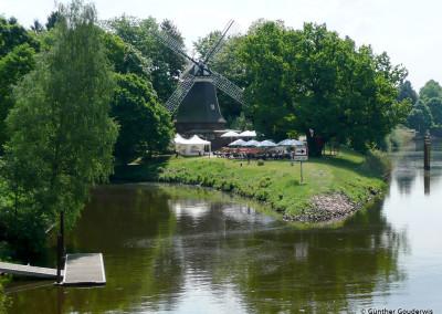 Höltingmühle an der Hasemündung in Meppen