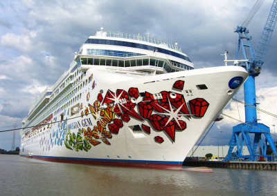 MS Norwegian Gem in der Meyer Werft